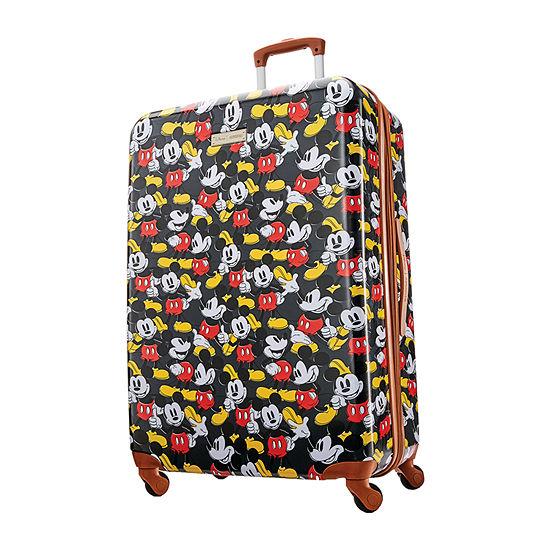 American Tourister Minnie Denim Krush Mickey Mouse 28 Inch Lightweight Luggage