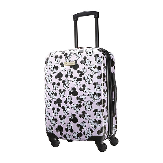 American Tourister Minnie Loves Mickey Mickey and Friends 20 Inch Hardside Lightweight Luggage