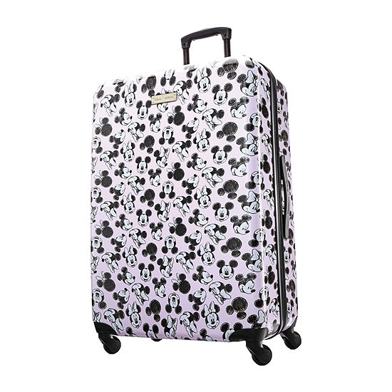 American Tourister Minnie Loves Mickey Mickey and Friends 28 Inch Hardside Lightweight Luggage