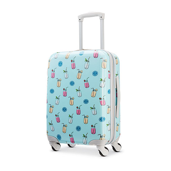 American Tourister And Life Is Good 20 Inch Hardside Lightweight Luggage