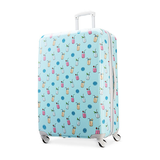 American Tourister And Life Is Good 28 Inch Hardside Lightweight Luggage
