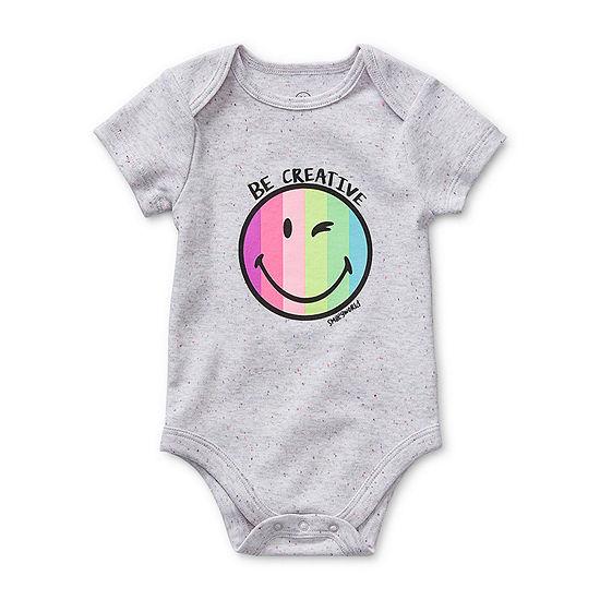Smiley World Baby Girls Bodysuit