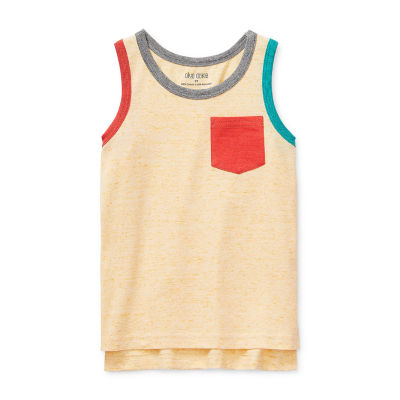 Okie Dokie Toddler Boys Round Neck Tank Top