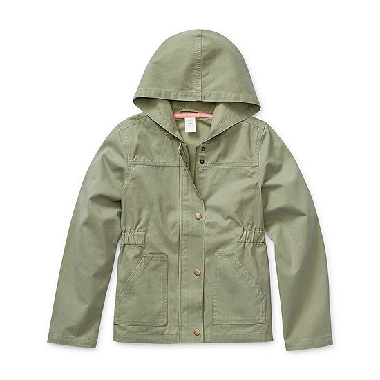 Arizona Little & Big Girls Lightweight Anorak