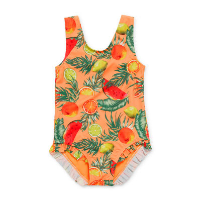 City Streets Toddler Girls One Piece Swimsuit