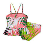 City Streets Toddler Girls Tankini Set