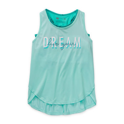 Xersion Little & Big Girls 2-pc. U Neck Tank Top