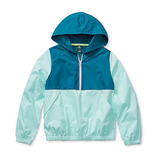 Xersion Little & Big Girls Lightweight Windbreaker
