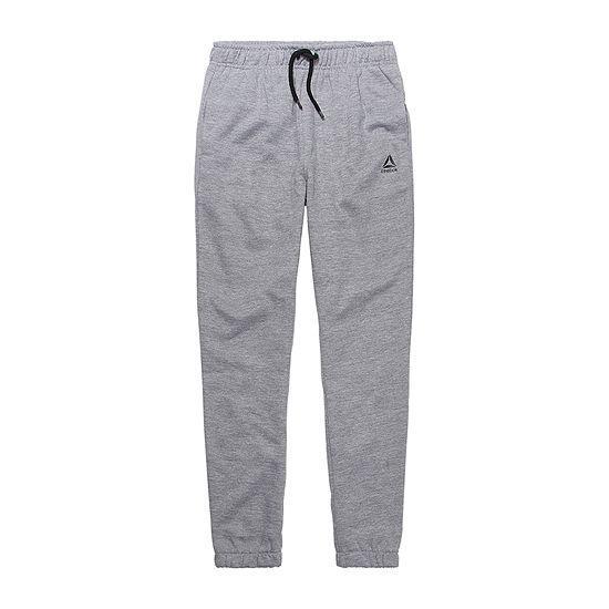 Reebok - Big Kid Boys Mid Rise Cuffed Pull-On Pants