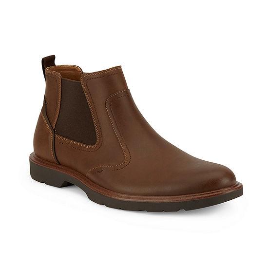 Dockers Mens Glenridge Chelsea Flat Heel Boots