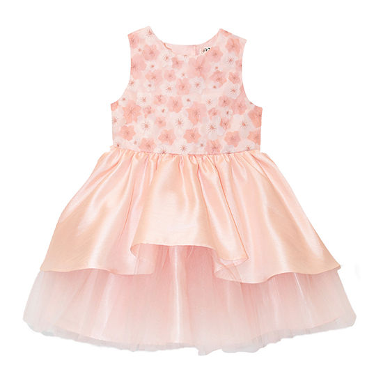 Nannette Baby Toddler Girls Sleeveless Party Dress