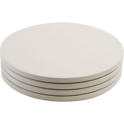 """Charcoal Companion® Pizzacraft® 4-pc. 8"""" Round Mini Pizza Stones"""