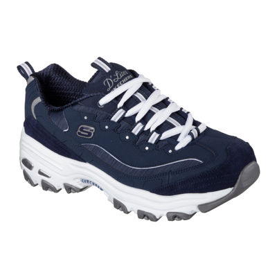 Skechers D'Lites Me Time Womens Sneakers Lace-up