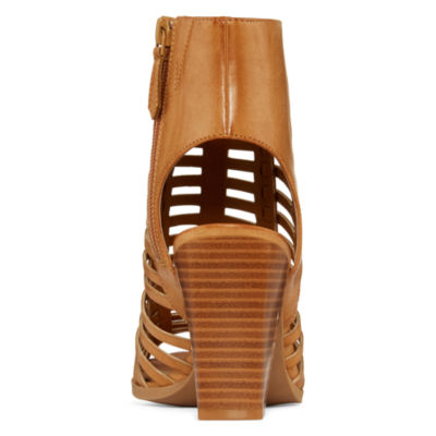 a.n.a® Lori Caged Chunky Heel Sandals