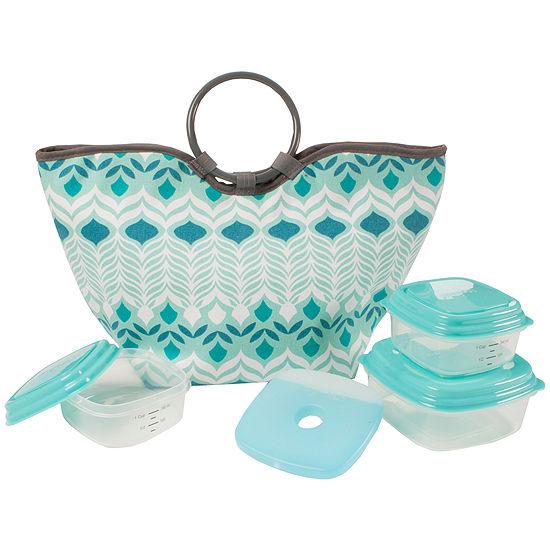 Fit & Fresh® 5-pc. Alexandria Lunch Box Kit