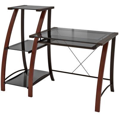 Triana Desk & 3-Tier Bookcase