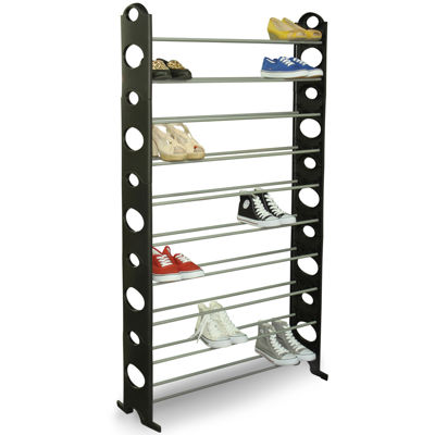 Sunbeam® 50-Pair Shoe Rack