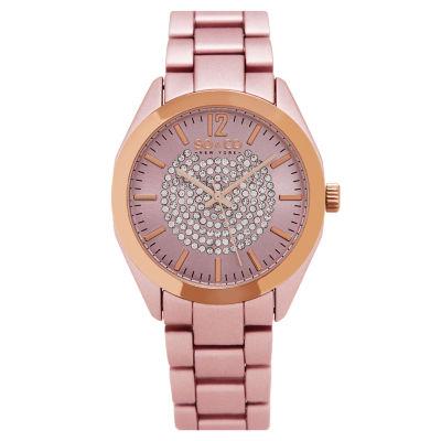 So & Co Womens Pink Bracelet Watch-Jp15893