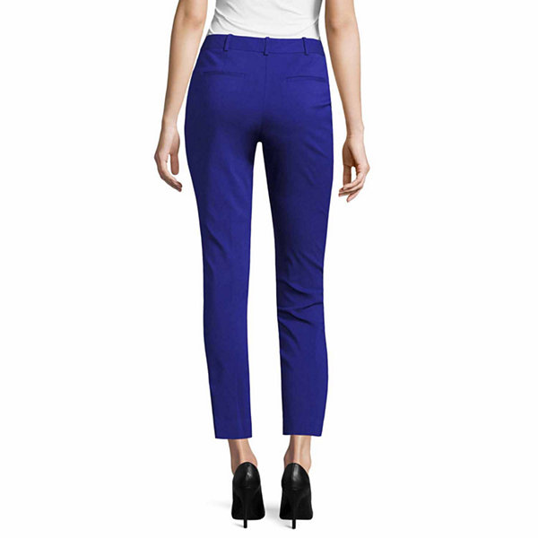 Worthington Curvy Fit Slim Pants - Tall