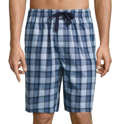 Van Heusen Yarn Dyed Woven Pajama Shorts-Big