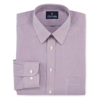 Stafford Travel Performance Super - Big and Tall Long-Sleeve Dress Shirt