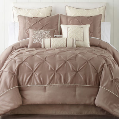 Home Expressions Genevieve 7-pc Comforter Set