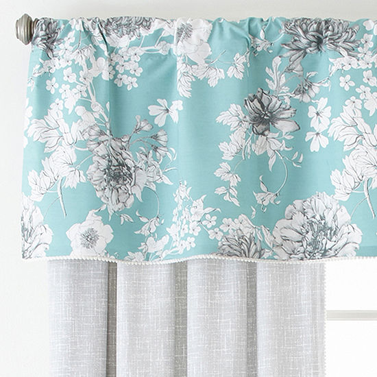JCPenney Home Rod-Pocket Single Curtain Panel