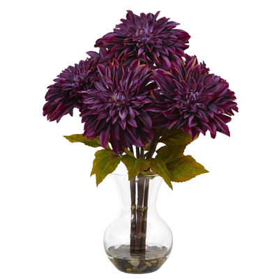 Dahlia Silk Floral Arrangement