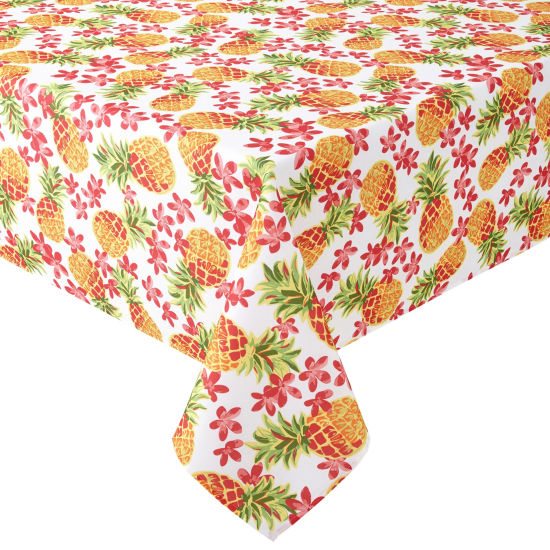Outdoor Oasis Pineapple Tablecloth