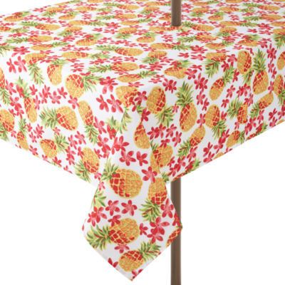 Placemat; Outdoor Oasis Pineapple Tablecloth