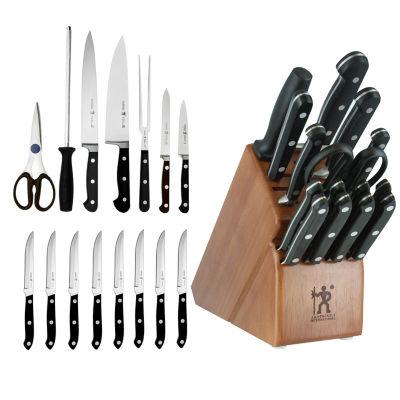 J.A. Henckels Classic 16-pc. Knife Block Set