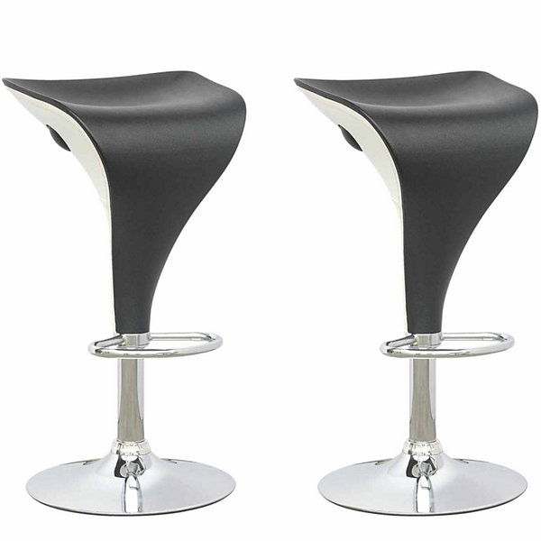 Adjustable Two Toned 2-pc. Bar Stool