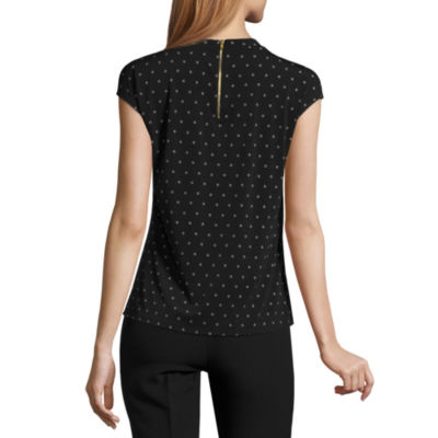 Worthington® Cap-Sleeve Twist-Front Top