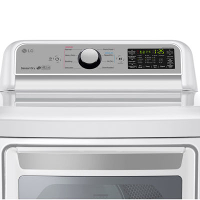 LG ENERGY STAR® 7.3 cu.ft. Super Capacity Smart Wi-Fi Enabled Gas Dryer
