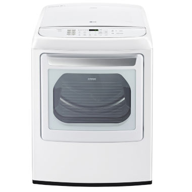 LG ENERGY STAR® 7.3 cu.ft. Capacity Smart Wi-Fi Enabled Front Control Gas SteamDryer™