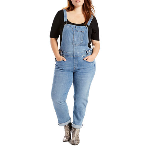 Levi's Sleeveless Overalls-Plus