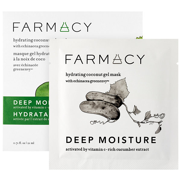 Farmacy Hydrating Coconut Gel Mask - Deep Moisture (Cucumber)