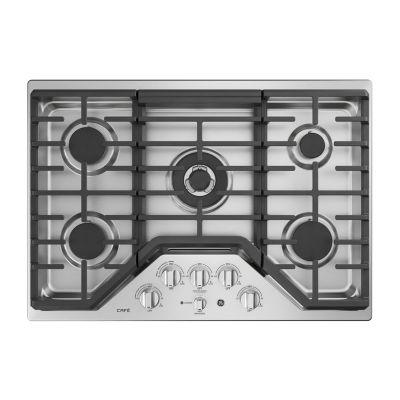 "GE Cafe´™ Series 30"" Built-In Gas Cooktop"