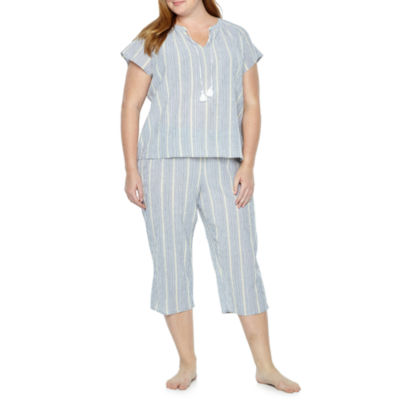 Liz Claiborne Capri Pajama Set - Plus