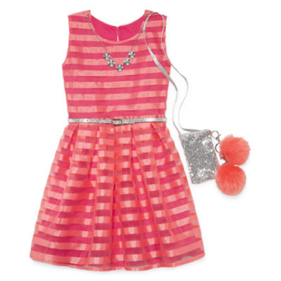 Knit Works Sleeveless Party Dress Girls