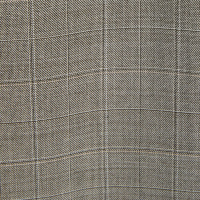 Stafford Brown Check Classic Fit Stretch Suit Jacket