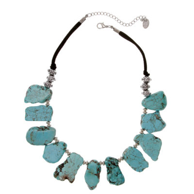 Erica Lyons Womens Collar Necklace
