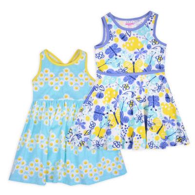 Nanette Baby Sleeveless Sundress - Toddler Girls