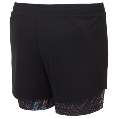 adidas 2 in 1 Woven Running Short - Girls Preschool 4-6X