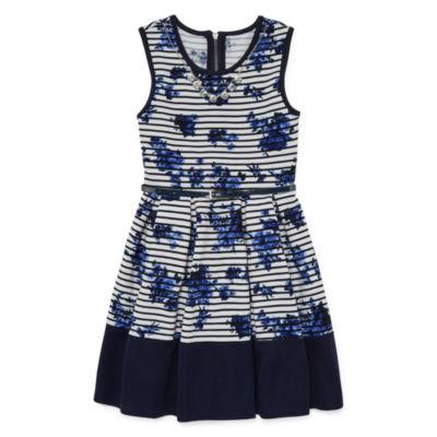 Knit Works Sleeveless Skater Dress Girls