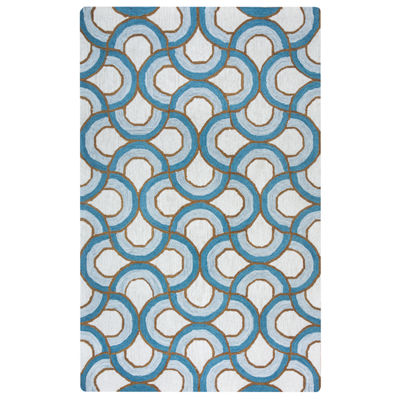 Rizzy Home Arden Loft-Easley Meadow Collection Chloe Geometric Area Rug