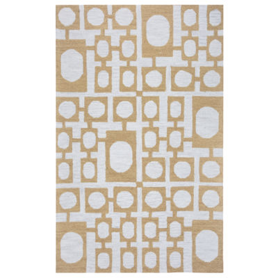 Rizzy Home Arden Loft-Easley Meadow Collection Evie Squares Area Rug