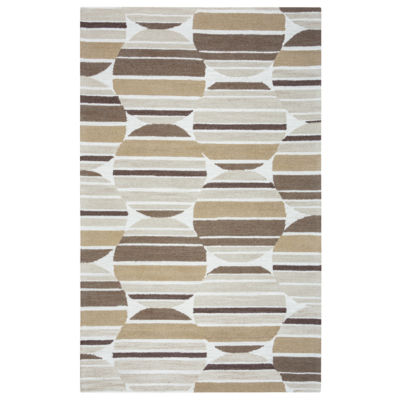 Rizzy Home Arden Loft-Easley Meadow Collection Grace Geometric Area Rug