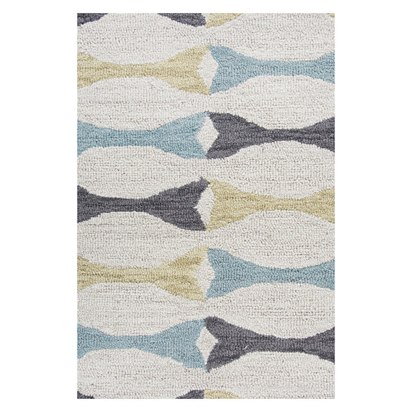 Rizzy Home Arden Loft-Easley Meadow Collection Sophia Geometric Area Rug