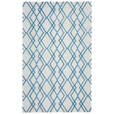 Rizzy Home Arden Loft-Easley Meadow Collection Sophie Geometric Area Rug